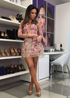 Vestido das Patricia Abravanel