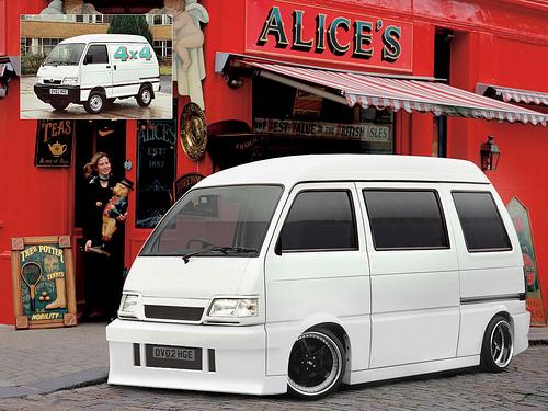 Modifikasi Penambahan Bumper Daihatsu Zebra
