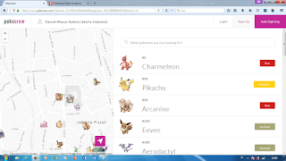 berburu pokemon dari google maps