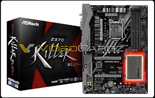 LineUp Motherboard ASRock Z370 Support Coffee Lake