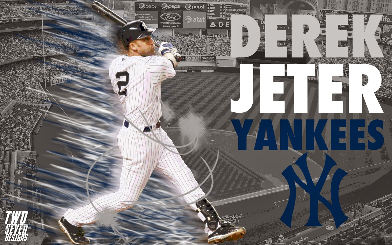 Derek Jeter Yankee Baseball Wallpaper - HD wallpaper