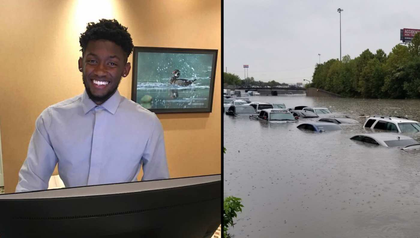 21-Year-Old Hotel Employee Took Care Of 90 Guests For 36 Hours Straight During Flooding In Texas