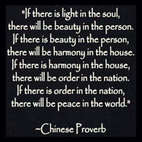 If There Is - A Chinese Proverb