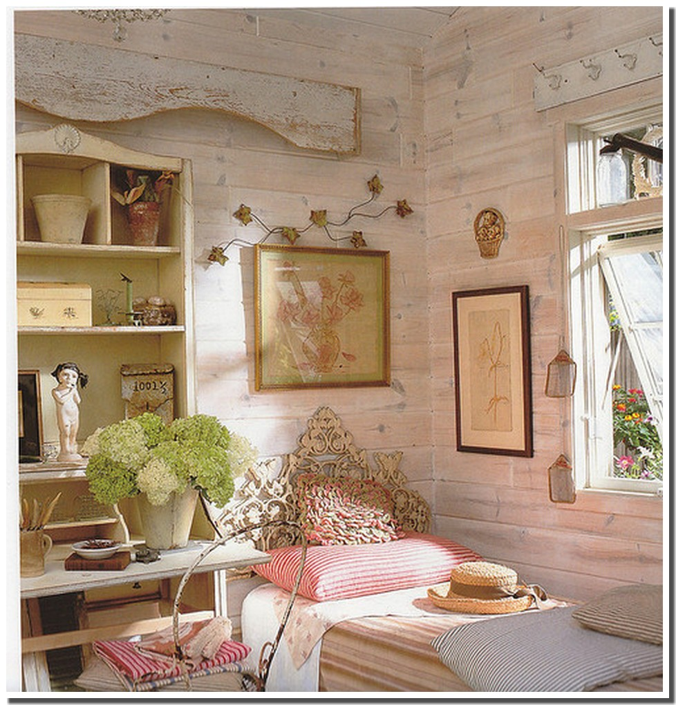 Nassima Home Chambre vintage en rose