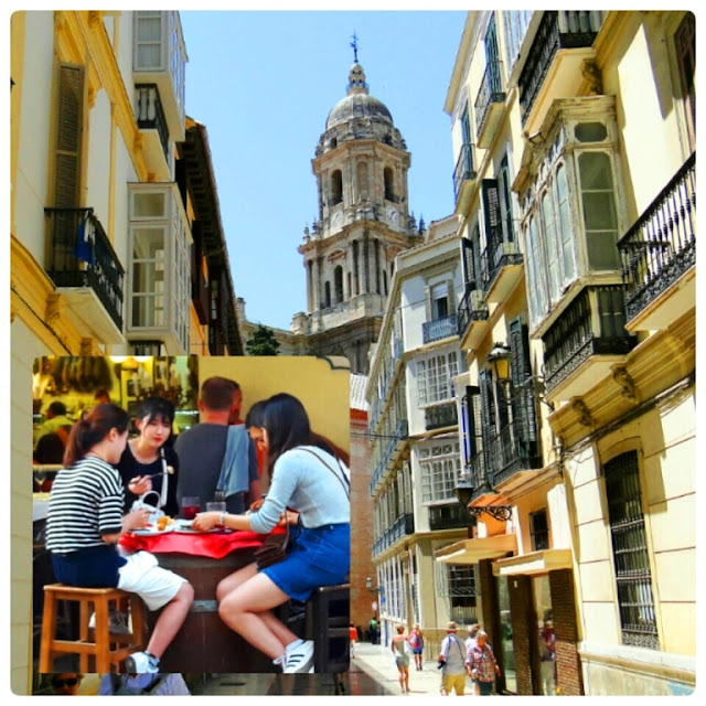 Walk around city centre Malaga