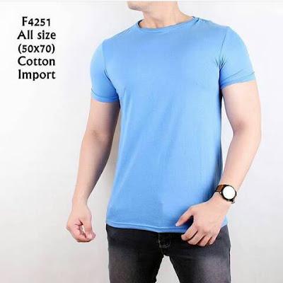 Tips Memilih T-Shirt Lengan Pendek Pria