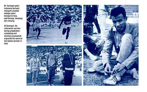 M Sarengat Pahlawan Olahraga Indonesia