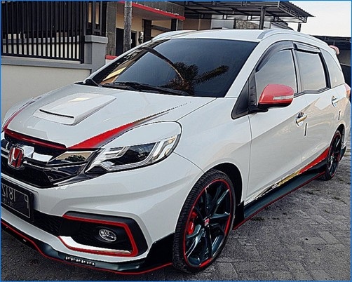 foto mobil modifikasi mobilio terbaru rs prestige yang baru ceper body kit keren 2017. Black Bedroom Furniture Sets. Home Design Ideas