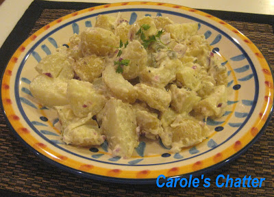 Potato salad by Carole's Chatter