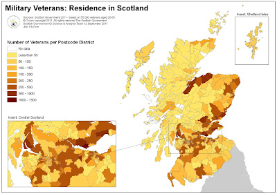 Service Personnel and Veterans Agency: New map to help ...