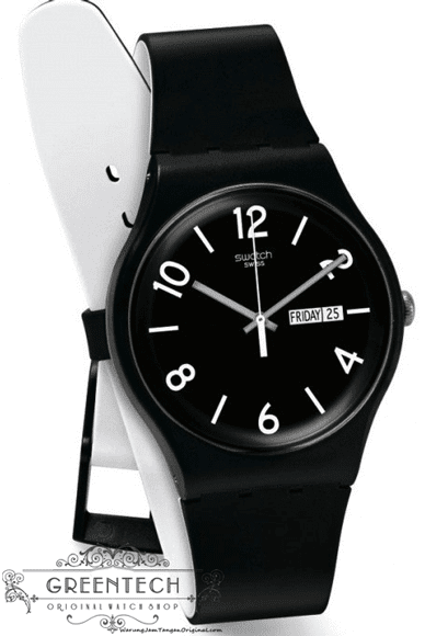 Swatch BACKUP BLACK SUOB715