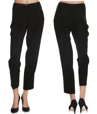 pantalones negros para mujer