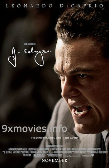 J Edgar 2011 Dual Audio Hindi Bluray Movie Download