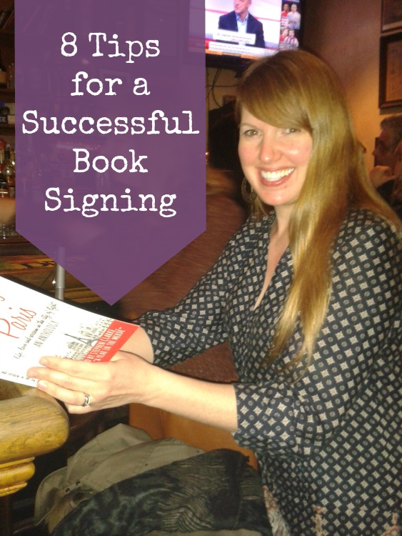 8 Tips for a Successful Book Signing