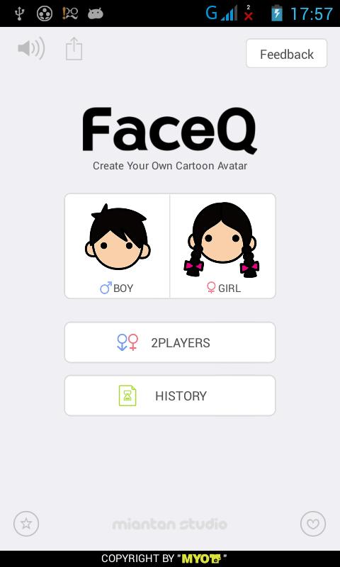 Review : Aplikasi FaceQ untuk membuat Avatar Wajah Kartun di Smartphone Android kalian