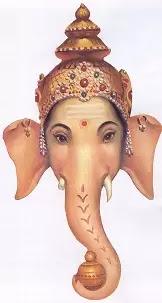Vinayagar Elephant Face