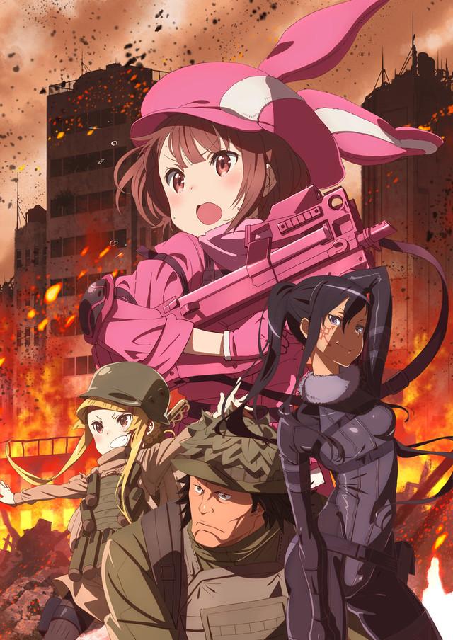 Anime Sword Art Online Alternative: Gun Gale Online será producido por Studio 3Hz