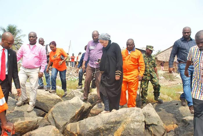 Photos: Federal Government begins clean-up of Ogoniland