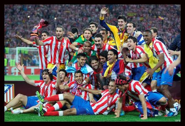 Atletico de Madrid Campeón Europa League