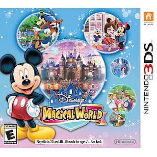 Disney Magical World, 3DS, Español, Mega, Mediafire