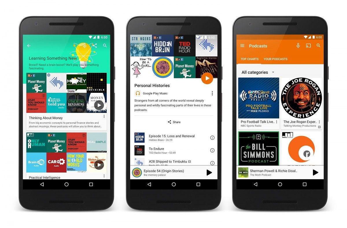 Google Play Podcasts Rolling Out Now