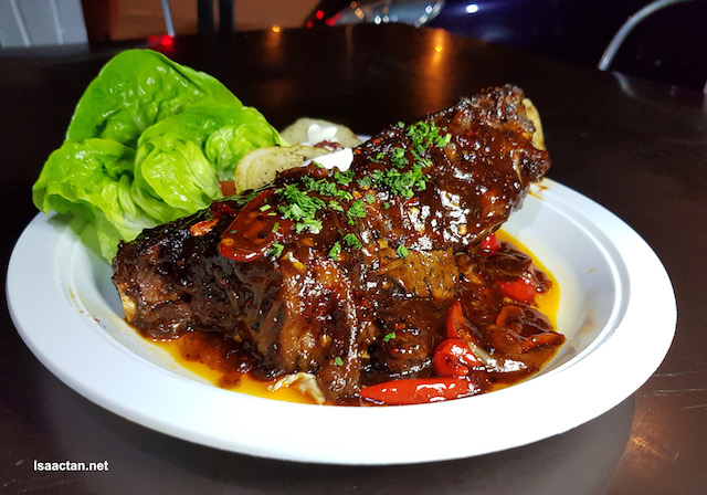 Bone Ribs, slow cooked for 30 hours (RM36)