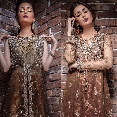 label baraat dresses bridal gowns bridal wear collection party wear