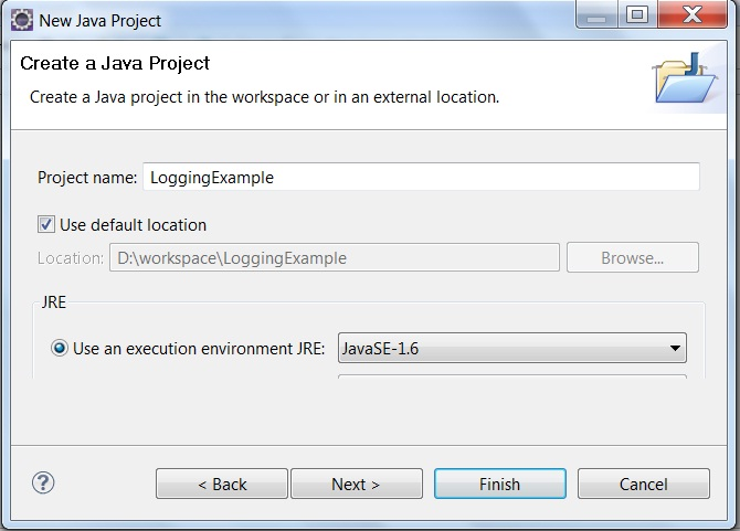 Logging with log4j Example :Java | ProgrammingFree