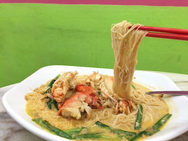 Restoran Tong Sheng (东升园海鲜家) - Cheesy Prawn Meehun