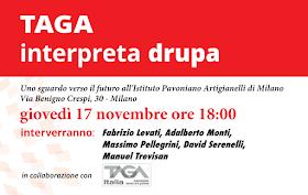 "Tour ""TAGA interpreta drupa"" - MILANO"