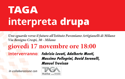 "Tour ""TAGA interpreta drupa"" - MILANO"