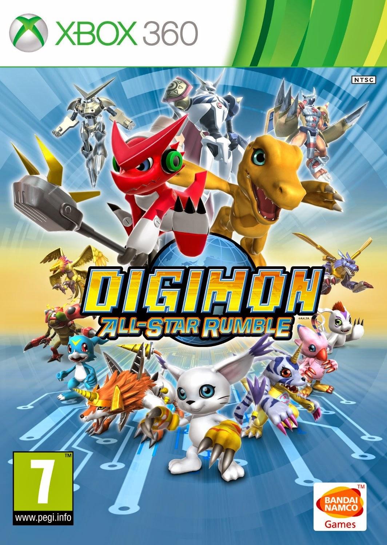 Digimon All Star Rumble XBOX 360 Cover Caratula