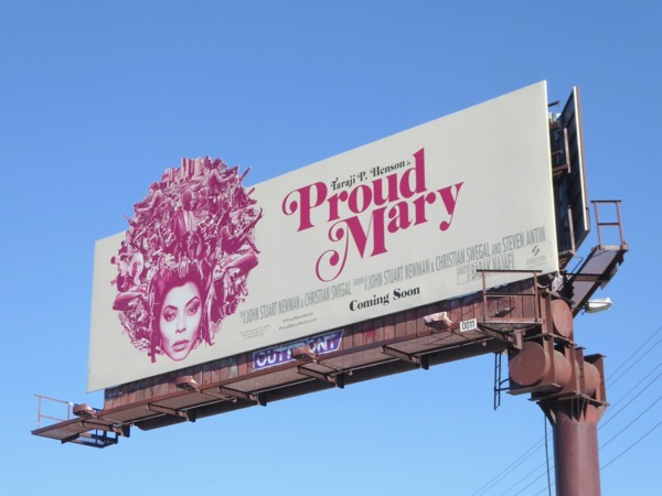 Proud Mary cut-out billboard