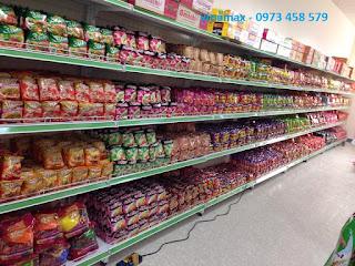 quầy kệ siêu thị tại Lào Cai