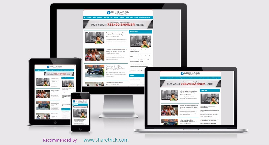 Siniladom free amp blogger template pronofoot35fo Images