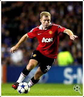 Paul Scholes Man Utd