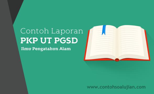 Contoh Laporan PKP UT (Universitas Terbuka) PGSD Kelas V (Lima) SD Mata Pelajaran IPA