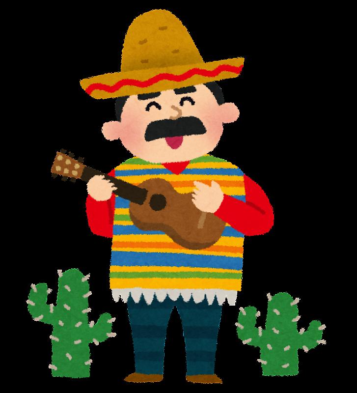 「メキシコ人 イラスト」の画像検索結果