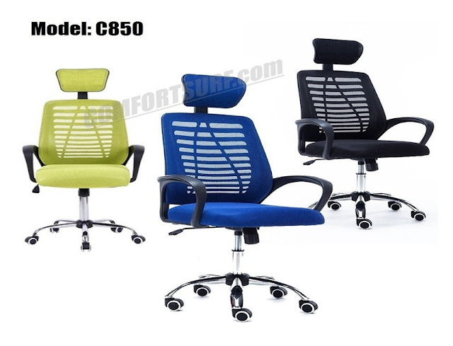 best buy ergonomic mesh office chair with headrest for sale
