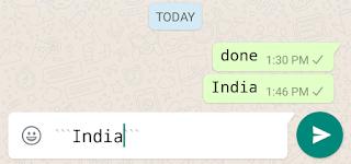 cara mengubah font percakapan di whatssapp