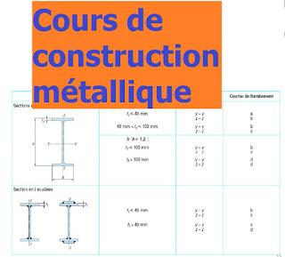 cours de construction m tallique pdf outils livres exercices et vid os