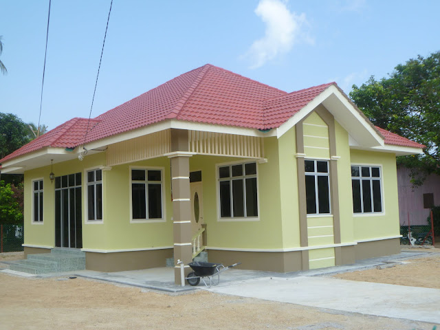 rumah kampung sederhana dijual