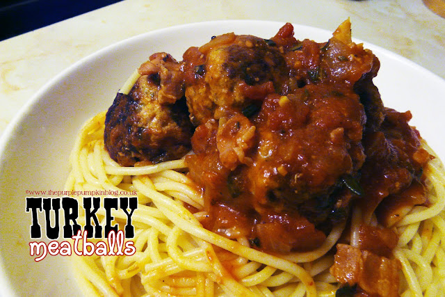 Turkey Meatballs - Quick & Easy Dinner | The Purple Pumpkin Blog