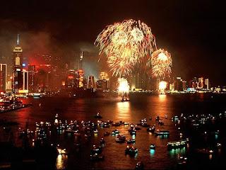 New Year 2017 Celebration Fireworks Live Image