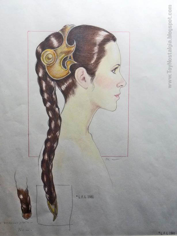 """Leia esclava del Palacio de Jabba the Hutt  """"Episodio VI - The Return Of the Jedi""""  (STAR WARS - The Exhibition)"""