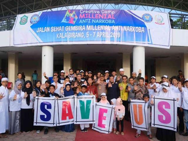 Andi Sudirman Buka Creative Camp Millennial Anti Narkoba Sulawesi Selatan