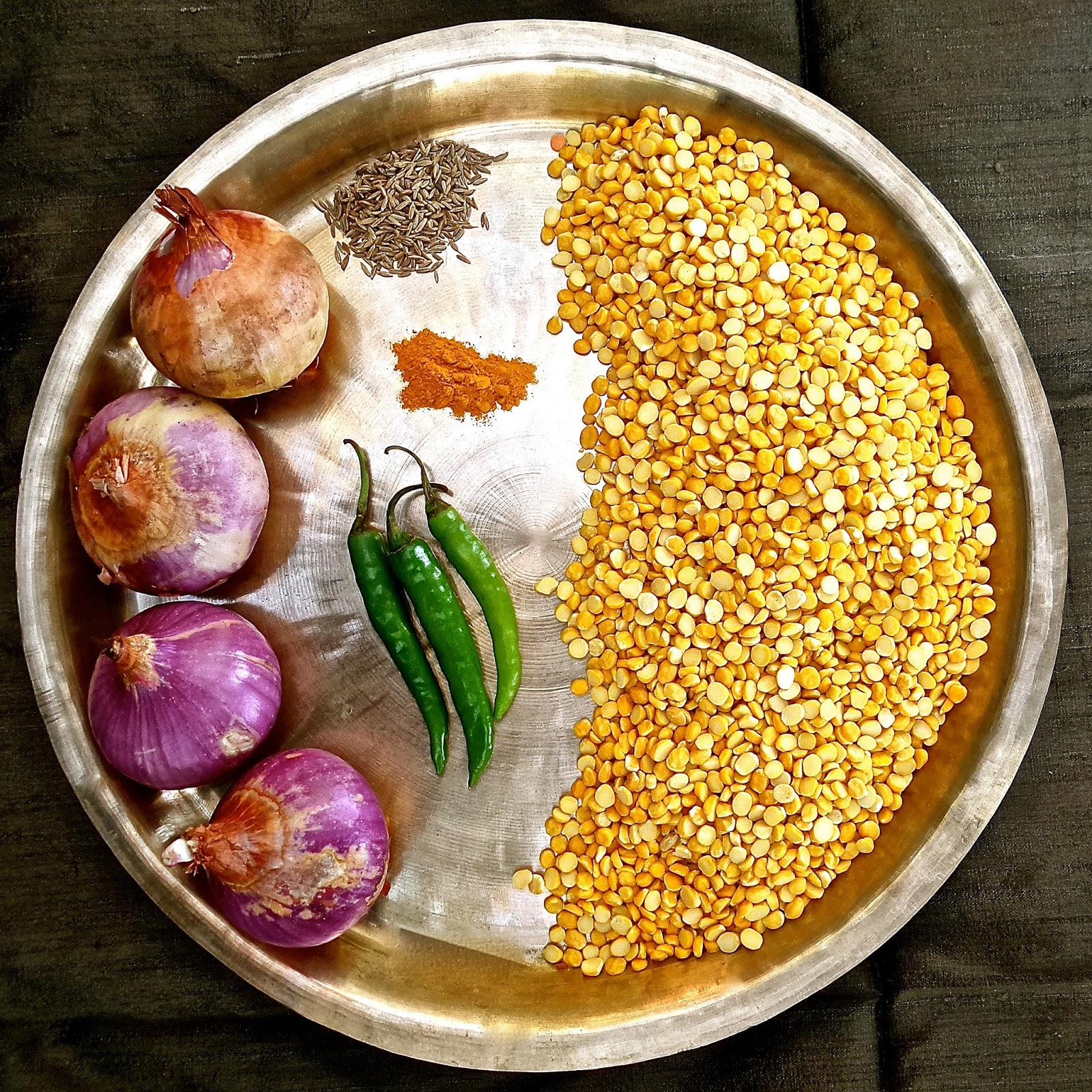 Keep calm curry on easy recipe lucknowi chana dal yellow split peas with caramelized onions recipe soup easy indian vegan forumfinder Choice Image