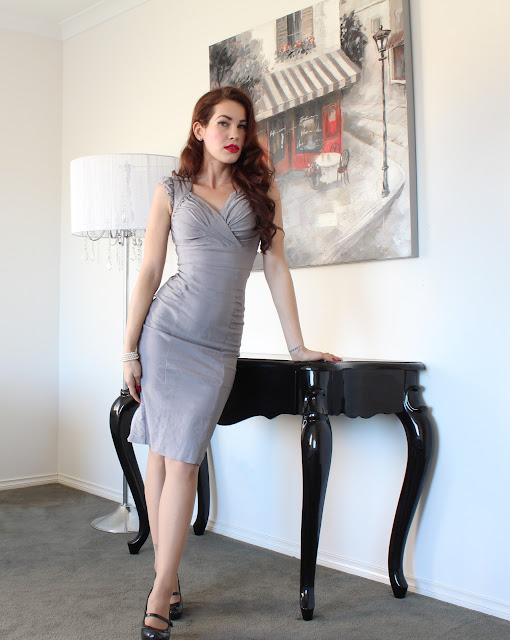 Retro Workwear:Stop Staring Hermosa Dress Review