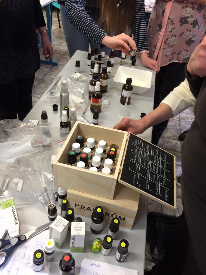 Graine de maman ateliers sur l 39 aromath rapie - Enlever odeur de renferme ...