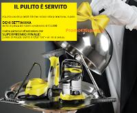 Logo Concorso Kaercher : vinci kit di pulizia e 2 anni di pulizie gratis